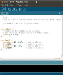 Arduino IDE snapshot