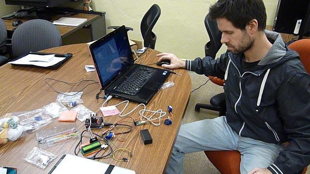 Testing Servo motors